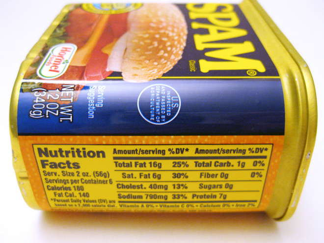 FDA to update nutrition facts on us food packaging