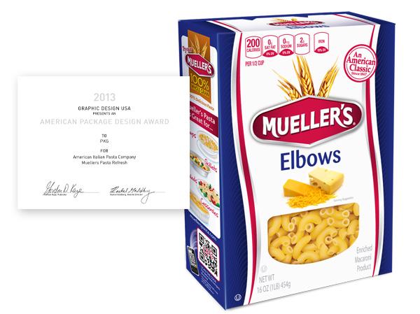 Mueller's Pasta Packaging Refresh - PKG