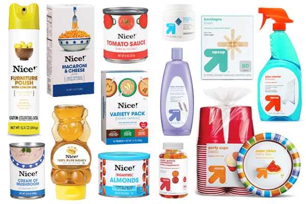At Target, up & up — one of Target's many owned and exclusive labels — holds its own against the national brands. Launched in , Target's up & up has delivered performance and value that consistently beats national-brand products in testing.