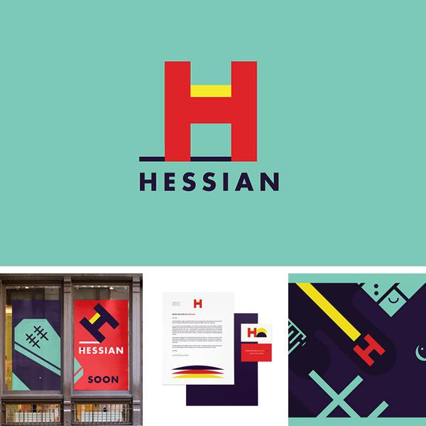 Hessian Brand Identity by Ben Pieratt