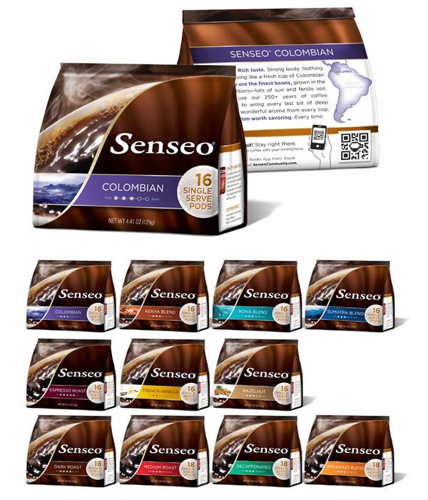 Senseo Coffee Packaging - PKG 2011