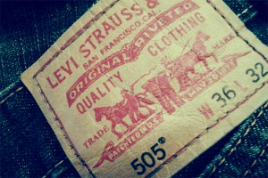 Levi's Jeans numbering system