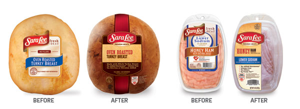 Sara Lee Deli Before and After - by PKG