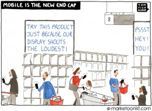 Mobile is the new End Cap