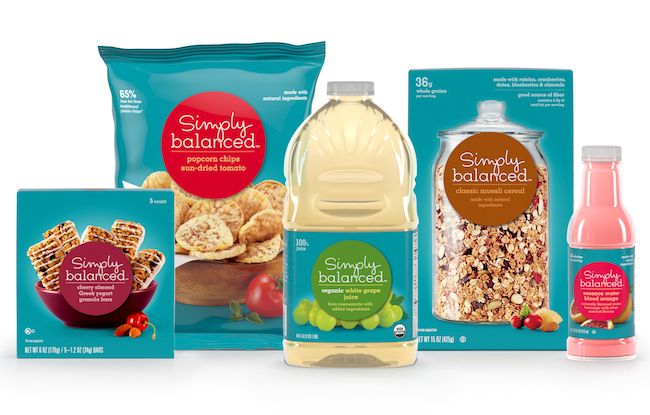 Target's new Organic products - Simply Balanced