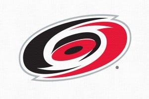 "NHL's Carolina Hurricans chop up the eastern conference logos with this ""winner"""
