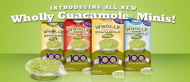 Wholly Guacamole creates easy open and easy to use new packaging