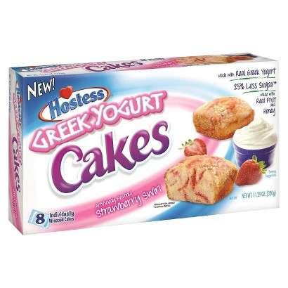 Hostess Greek Yogurt Cakes
