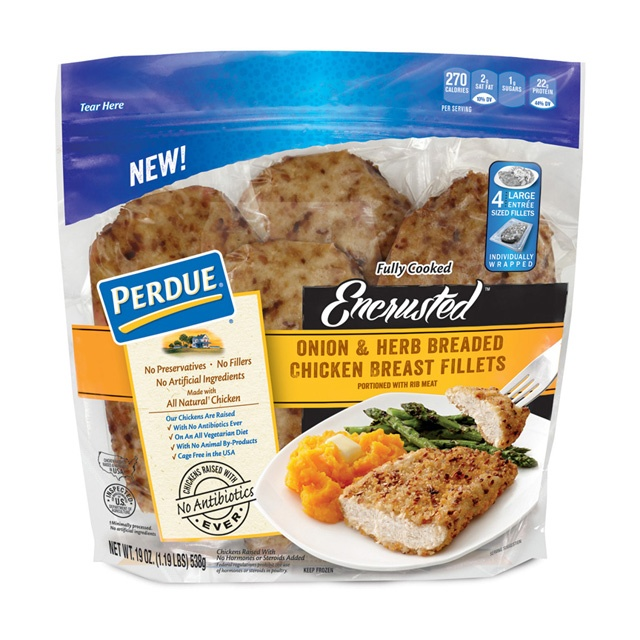 Perdue Encrusted Fillets Packaging